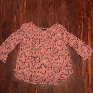 Gap floral blouse